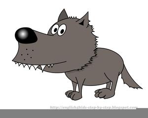 Big bad wolf clipart free vector transparent stock Free Big Bad Wolf Clipart | Free Images at Clker.com - vector clip ... vector transparent stock