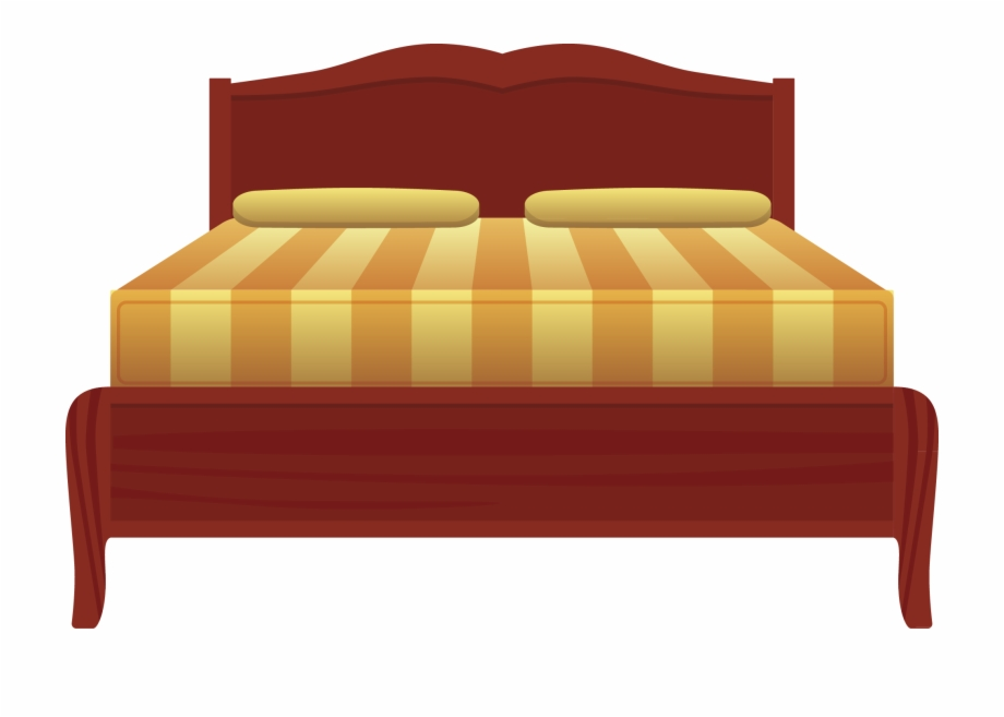 Big bed clipart picture transparent library Nightstand Bed Sheet Bed Frame - Big Bed Clipart, Transparent Png ... picture transparent library