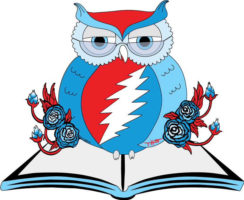 Big book center clipart download Owlsley's Eleven Great Grateful Dead Books for Little Hippies ... download