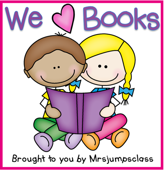 Book read clipart image free Kindergarten: Holding Hands and Sticking Together: Writing about Books! image free