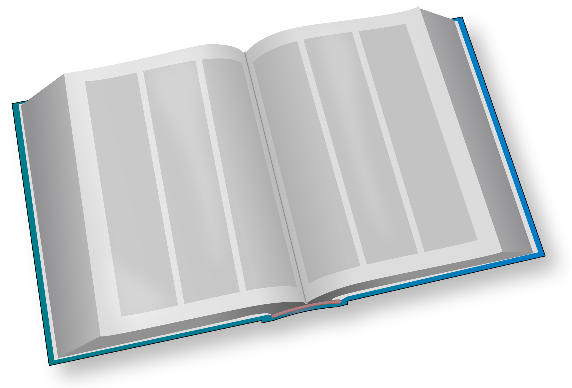 Big book clipart png transparent stock File:Big Book blue.svg - Wikimedia Commons png transparent stock