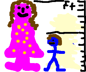 Big boy small boy clipart graphic free Big girl and small boy (drawing by Shane7877) graphic free