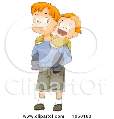 Big boy small boy clipart black and white download Big Brother Little Brother Clipart - Clipart Kid black and white download