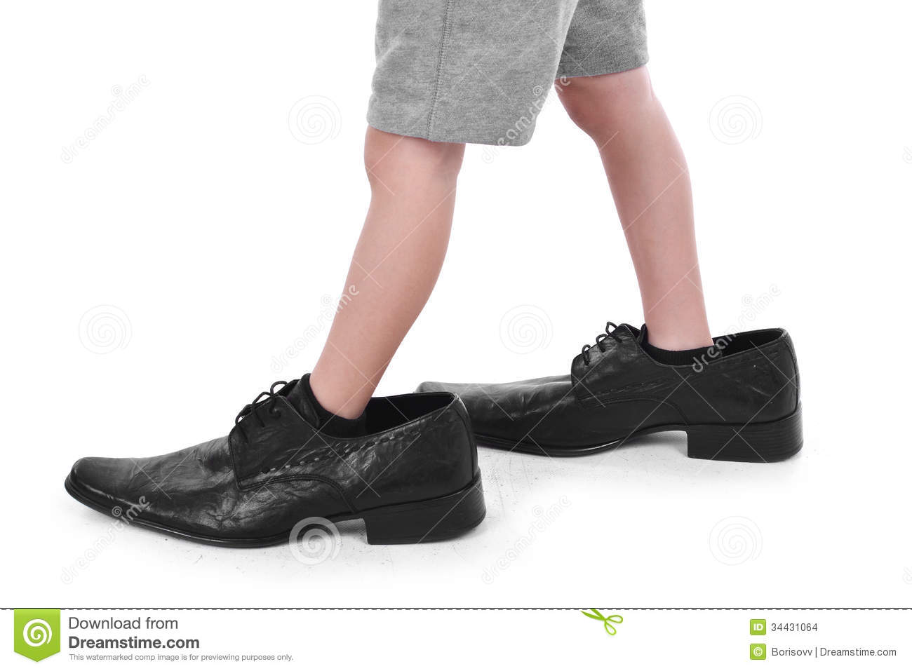 Big boy small boy clipart png freeuse library Child Walking Feet Clipart Boy S Little Feet In Big Black #fcmzlx ... png freeuse library