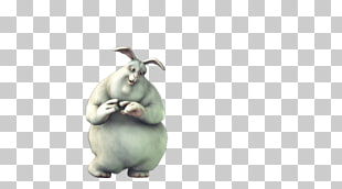 Big buck bunny clipart clipart black and white stock 4 big Buck Bunny PNG cliparts for free download | UIHere clipart black and white stock