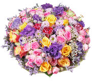 Big bunch of flowers image clipart free library Top View Of Big Bunch Of Flowers Isolated Stock Photo - Image ... clipart free library