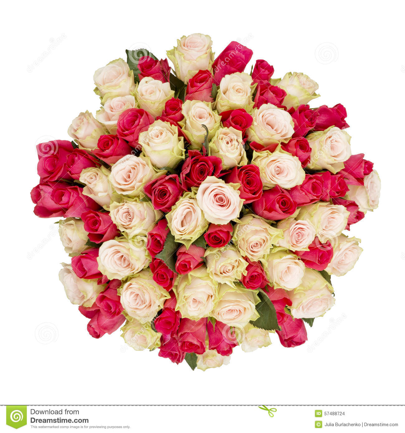Big bunch of flowers image png black and white download Top View Of Big Bunch Of Flowers Isolated Stock Photo - Image ... png black and white download