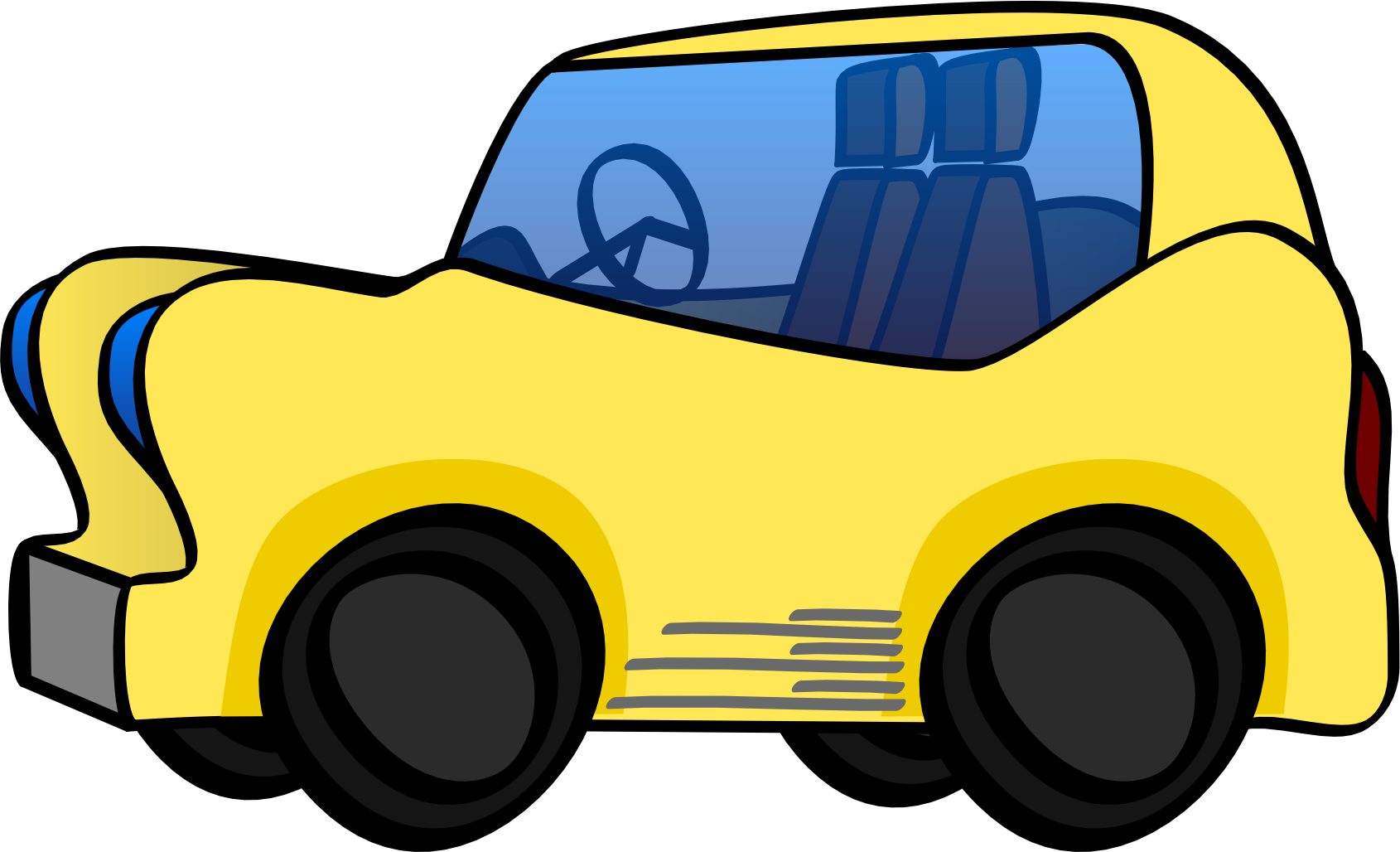 Car with hood open clipart png Clipart - fun car png