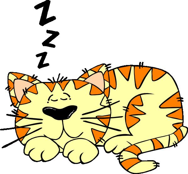 Cat food clipart svg freeuse download Sleep Cat Clip Art at Clker.com - vector clip art online, royalty ... svg freeuse download
