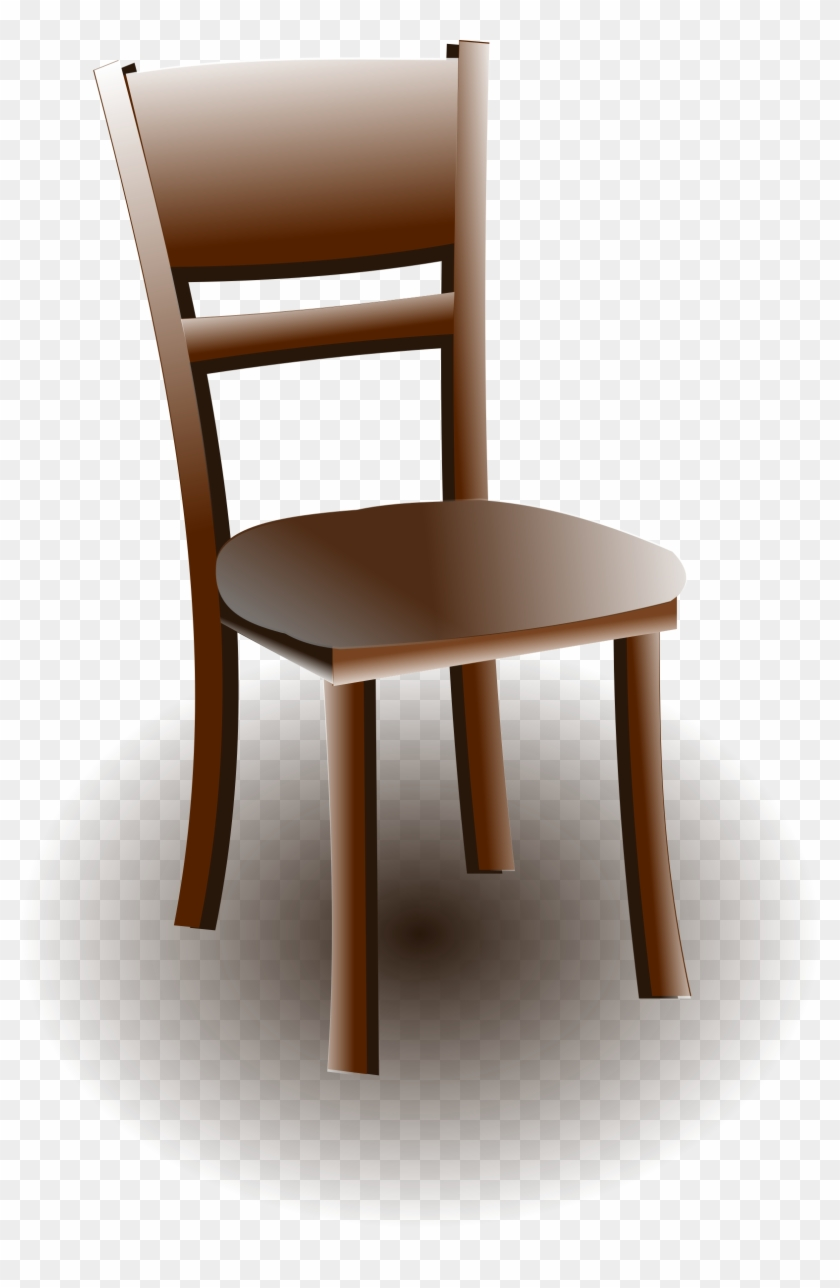 Big Image - Wood Chair Clipart, HD Png Download - 1615x2400(#558684 ... freeuse stock