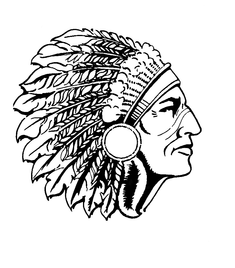 Native american chief clipart clip art black and white Free Indian Chief Head, Download Free Clip Art, Free Clip Art on ... clip art black and white