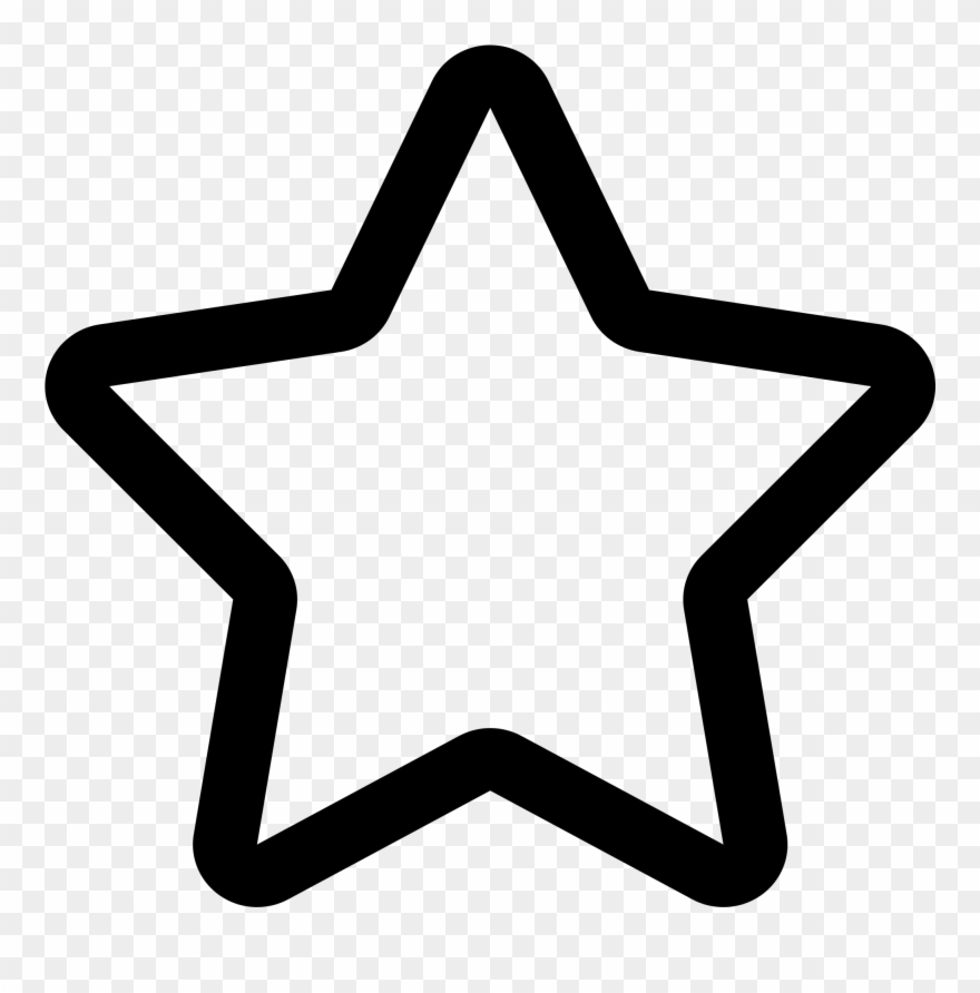 Big clipart star clip royalty free File - Linecons Big-star - Svg - Star Icon Png Clipart (#879933 ... clip royalty free