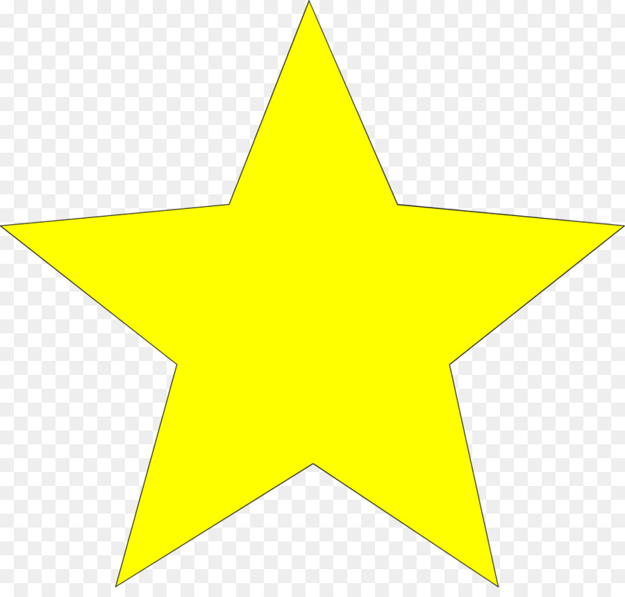Big clipart star image library Cartoon Star clipart - Star, Yellow, Font, transparent clip art image library