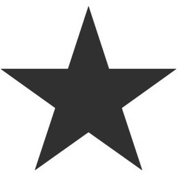 Clipart black star