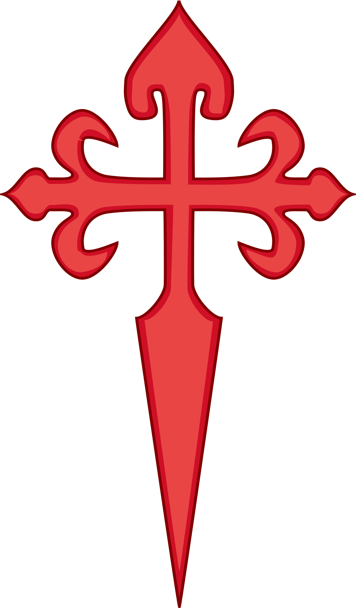 Field cross clipart image royalty free Santiago cross clipart - Clipground image royalty free
