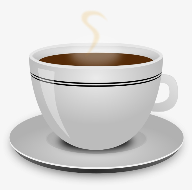 Big cup of coffee clipart