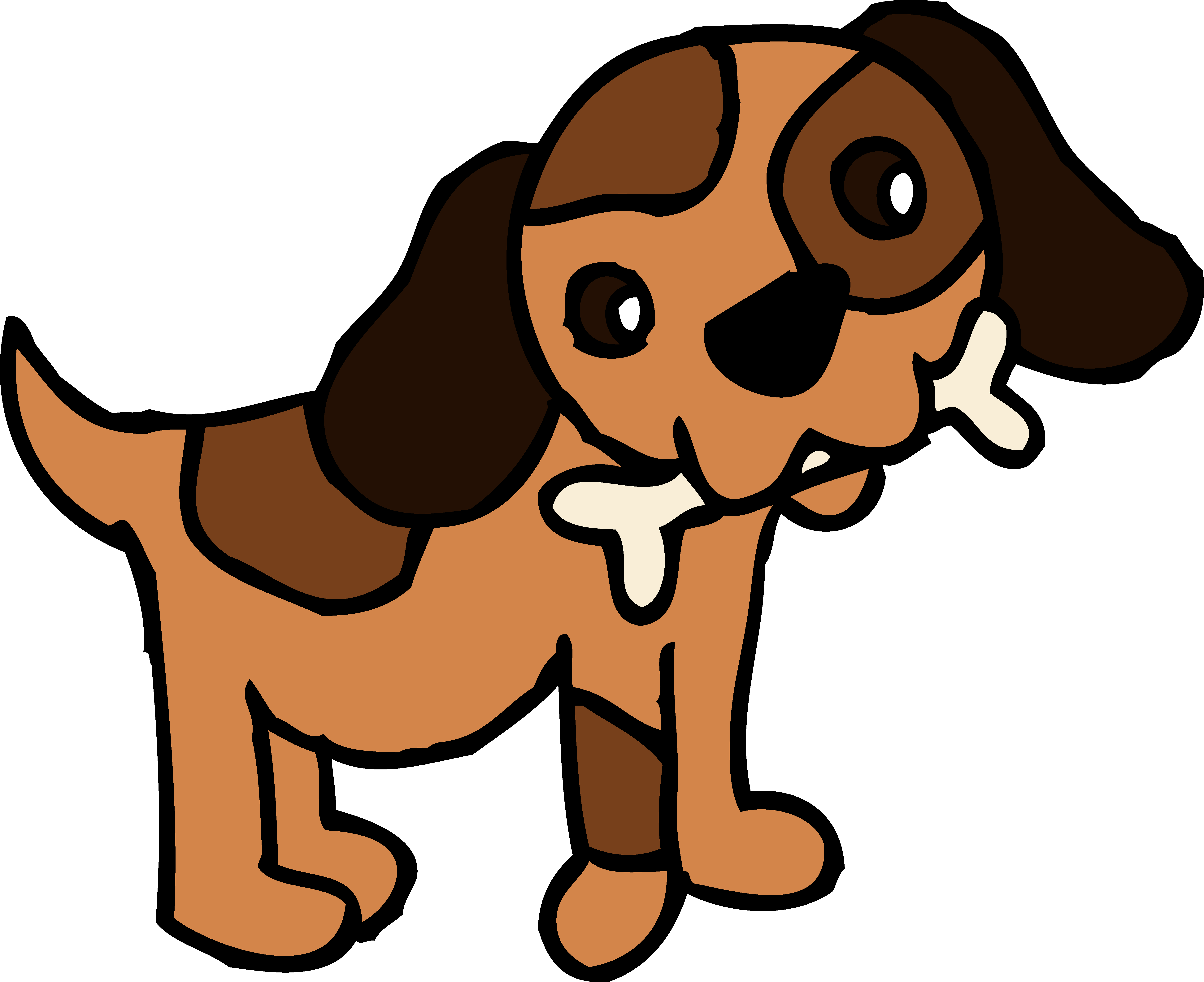 Dog with bone clipart image royalty free Big Dog Clip Art - ClipArt Best image royalty free
