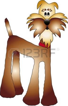 Big dog nose clipart.  stock vector illustration