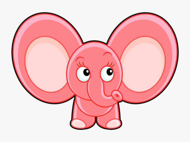 Big ears clipart royalty free library Download Free png Big Ears Elephant, Elephant Clipart, Long Nose ... royalty free library