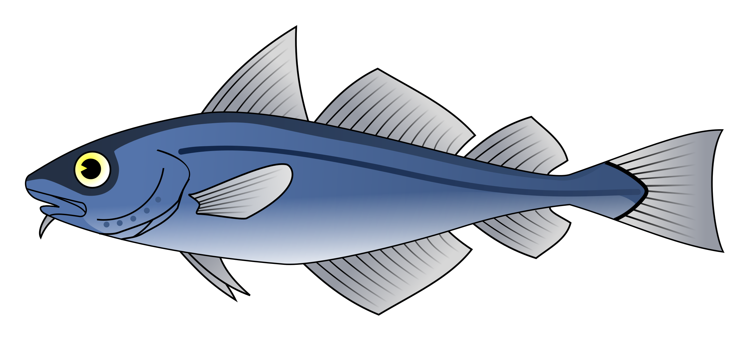 Fish food clipart graphic freeuse Clipart - Codfish graphic freeuse