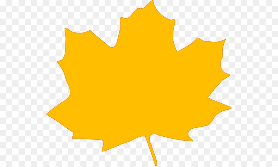 Big fall leaf clipart clipart download Maple Leaf Autumn Border png download - 600*537 - Free Transparent ... clipart download