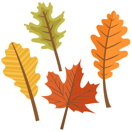 Big fall leaf clipart clipart library stock Fall Leaves Set SVG scrapbook cut file cute clipart files for ... clipart library stock