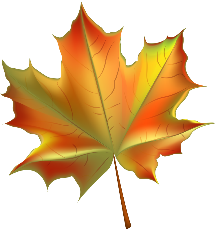 Big fall leaf clipart clip freeuse download Pin Autumn Leaves Background Clipart - Fall Leaf Clipart Transparent ... clip freeuse download