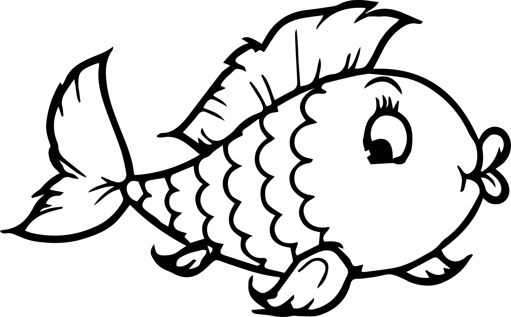 Big fish clipart color image library download Printable Fishing | Free download best Printable Fishing on ... image library download