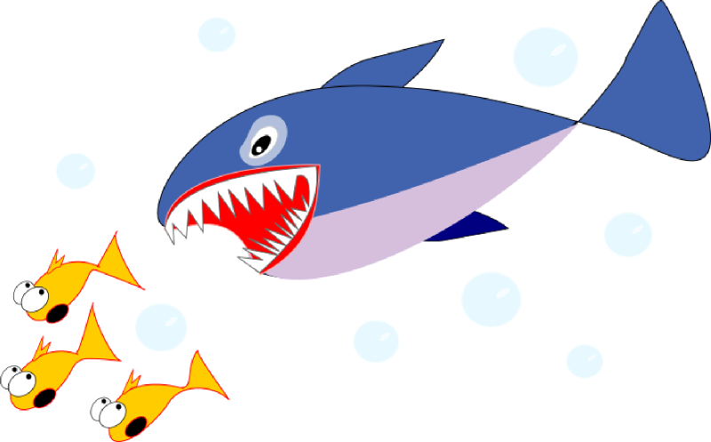 Eating fish clipart.  collection of small