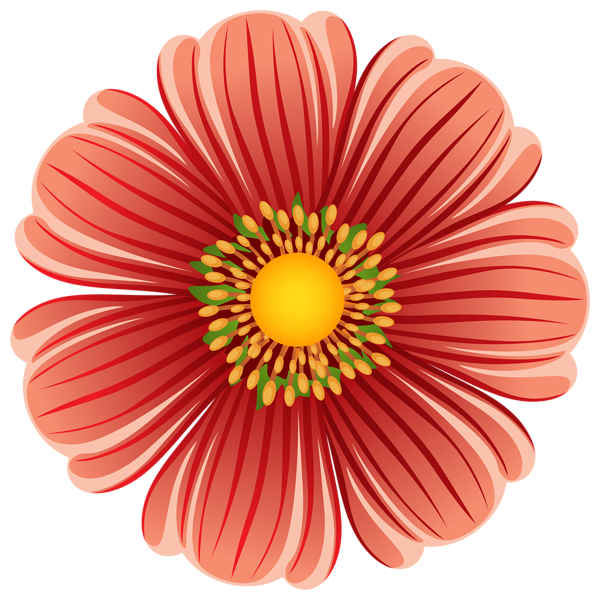 Large flower clipart graphic royalty free library Large Flower Transparent PNG Clip Art Image | Gallery Yopriceville ... graphic royalty free library