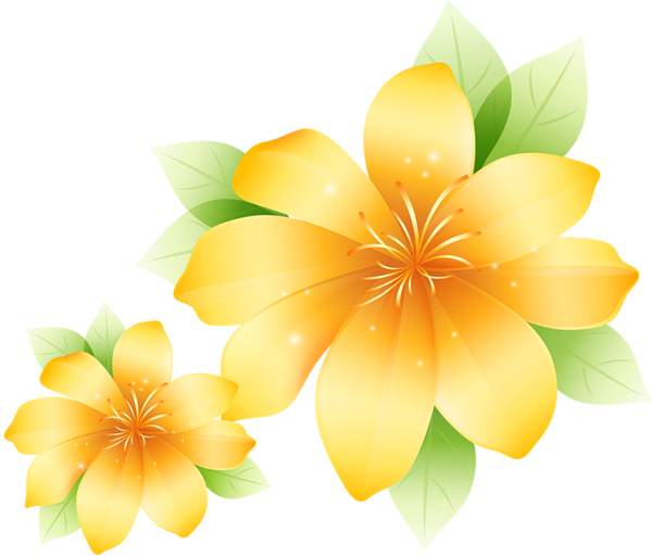 Flower group clipart image royalty free stock Large Yellow Flower Clipart | Flowers | Pinterest | Flower clipart ... image royalty free stock
