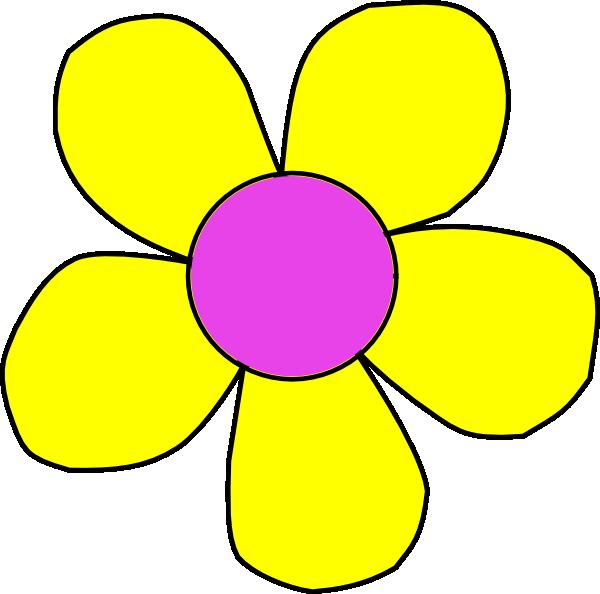 Flower clipart 5 petals jpg royalty free stock Flower Clip Art at Clker.com - vector clip art online, royalty free ... jpg royalty free stock