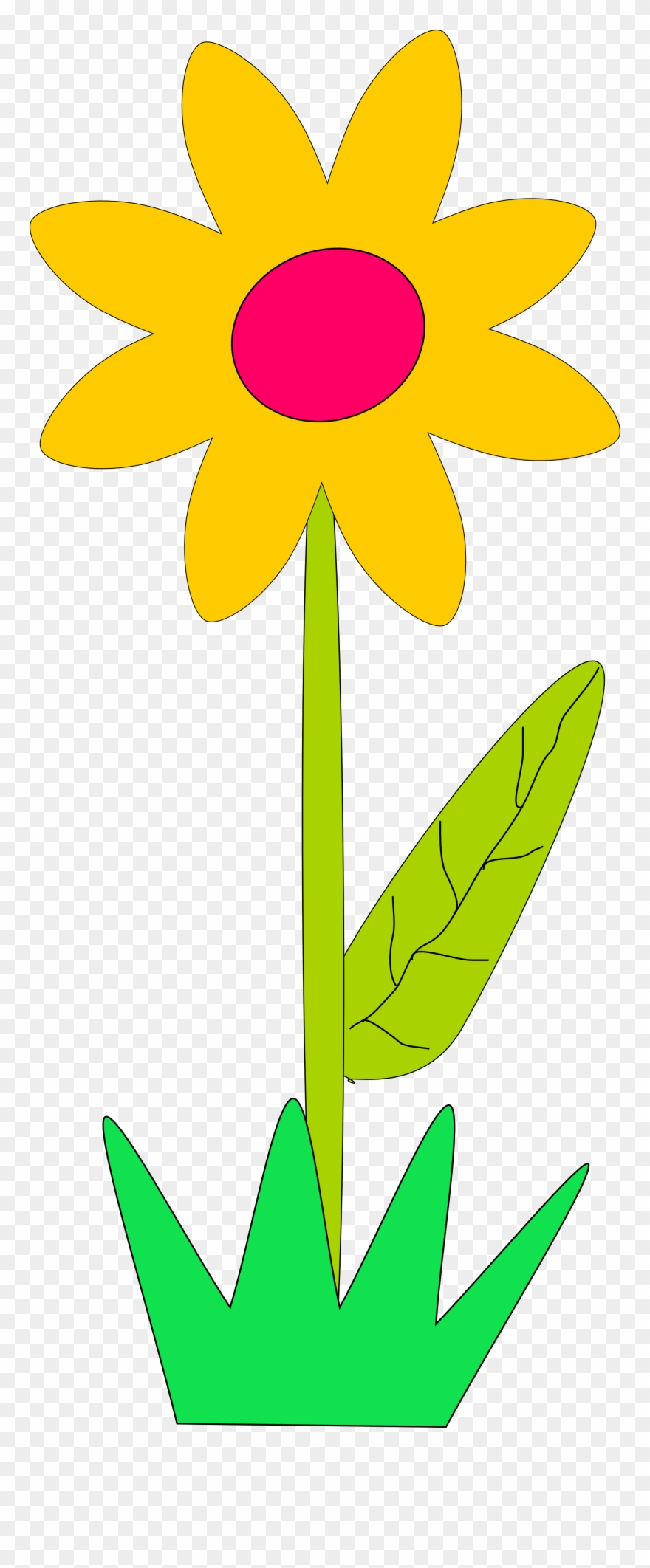 Big flowers clipart png free download Big Flower Clip Art Cliparts - Spring Flowers Clip Art - Png ... png free download