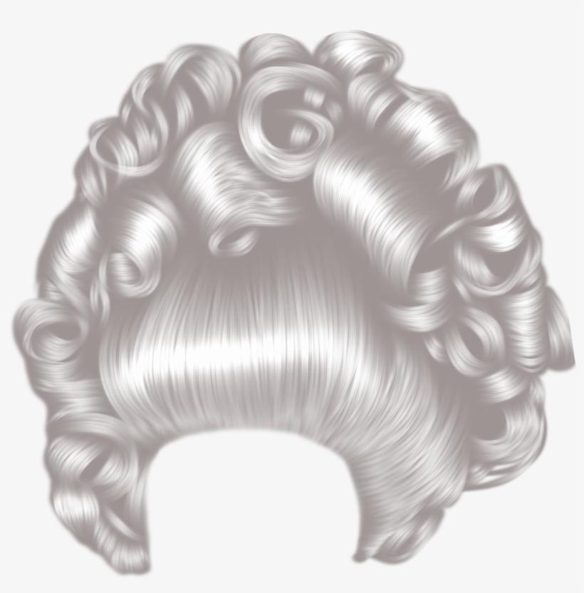Big hair clipart png transparent Free Download Grey Hair Png Clipart Cabelo Wig - Big Hair Png ... png transparent