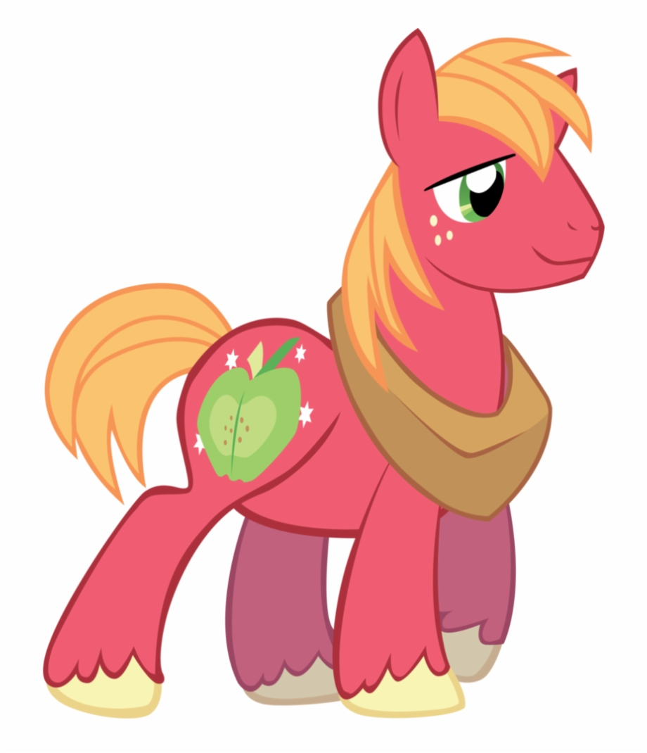 Big macintosh clipart jpg free Big Macintosh - My Little Pony Mac Free PNG Images & Clipart ... jpg free