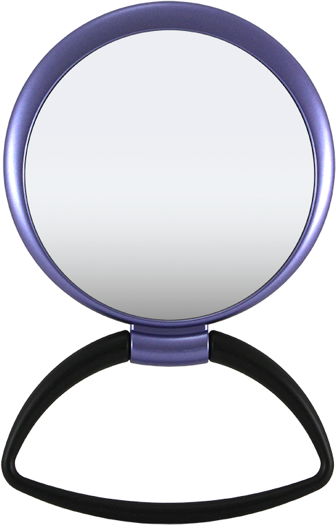 Hanging / Standing Mirror 1x/5x Black Handle, Matte Clipart - Full ... transparent library