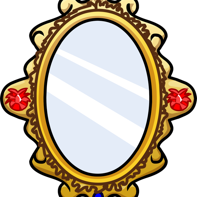 Mirror Clipart Transparent Pencil And In Color Mirror - Mirror ... png download