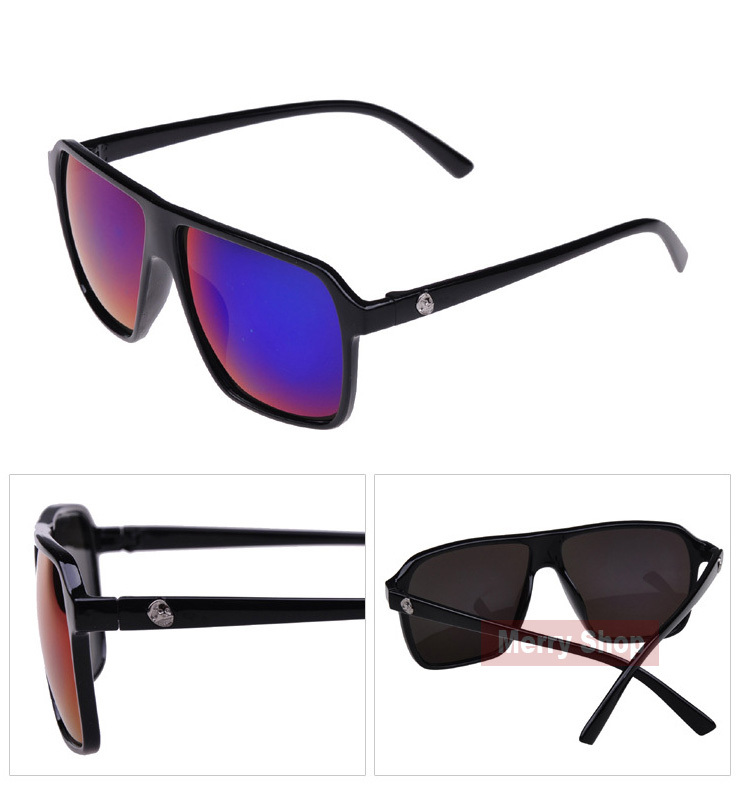 2014 Hot Brand Sunglasses Big Mirror Lens Large Frame Colorful ... banner library stock