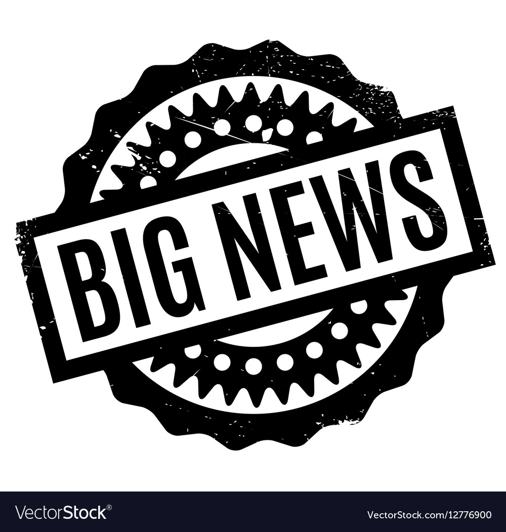 Big news clipart png library Big News rubber stamp png library