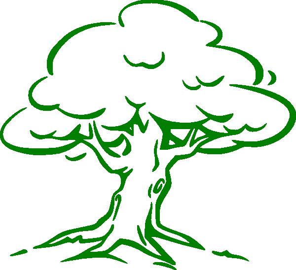 Big oak tree clipart graphic library download Green Oak Tree Clip Art at Clker.com - vector clip art online ... graphic library download