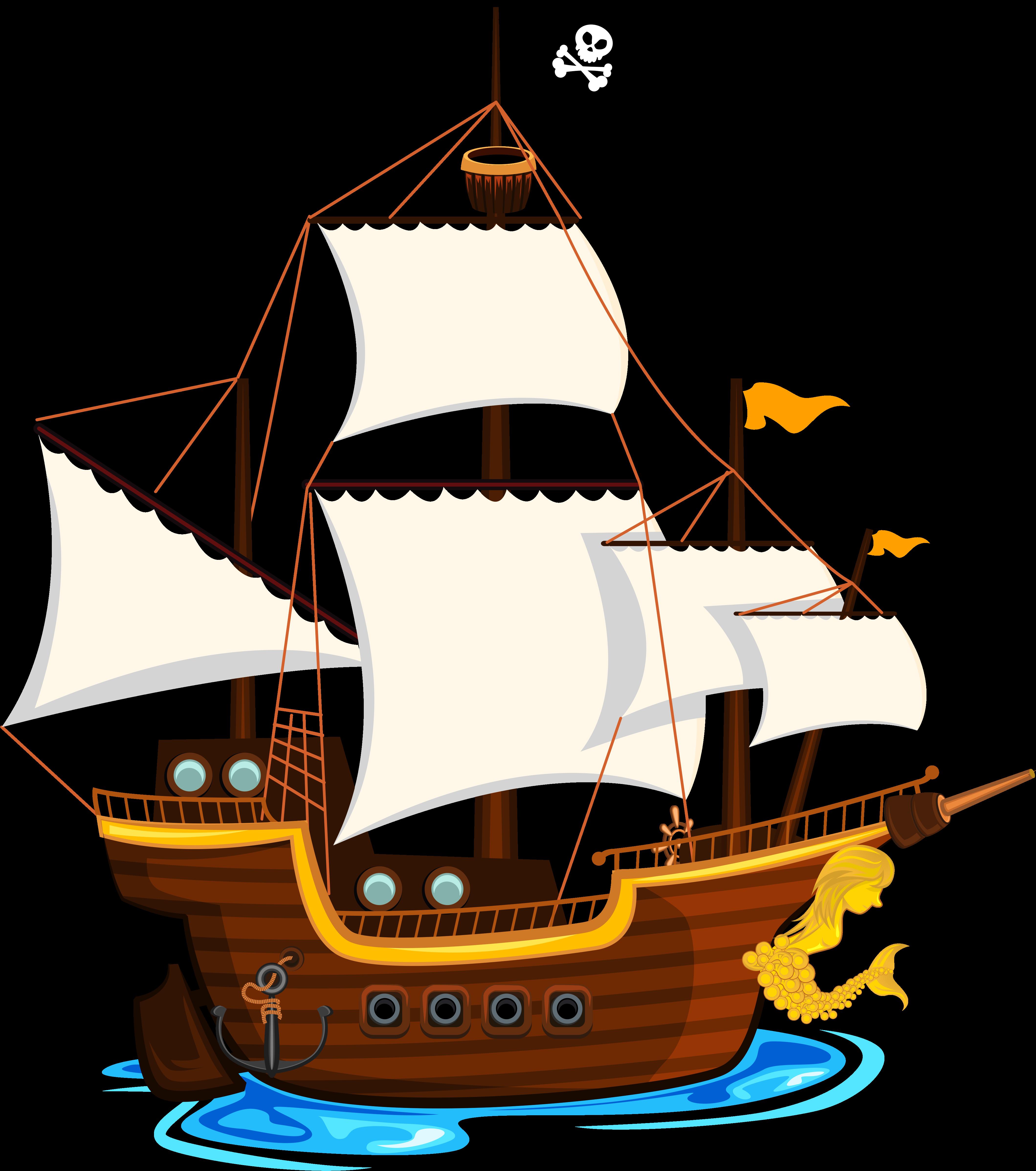 Big pirate ship clipart vector stock E D Ea C Orig Edeacorig - Pirate Ship Clip Art Png Transparent Png ... vector stock
