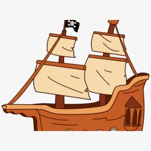 Big pirate ship clipart picture library stock Ship Boat Clip Art At Vector Clipartbold Clipartix - Fishing Boat ... picture library stock