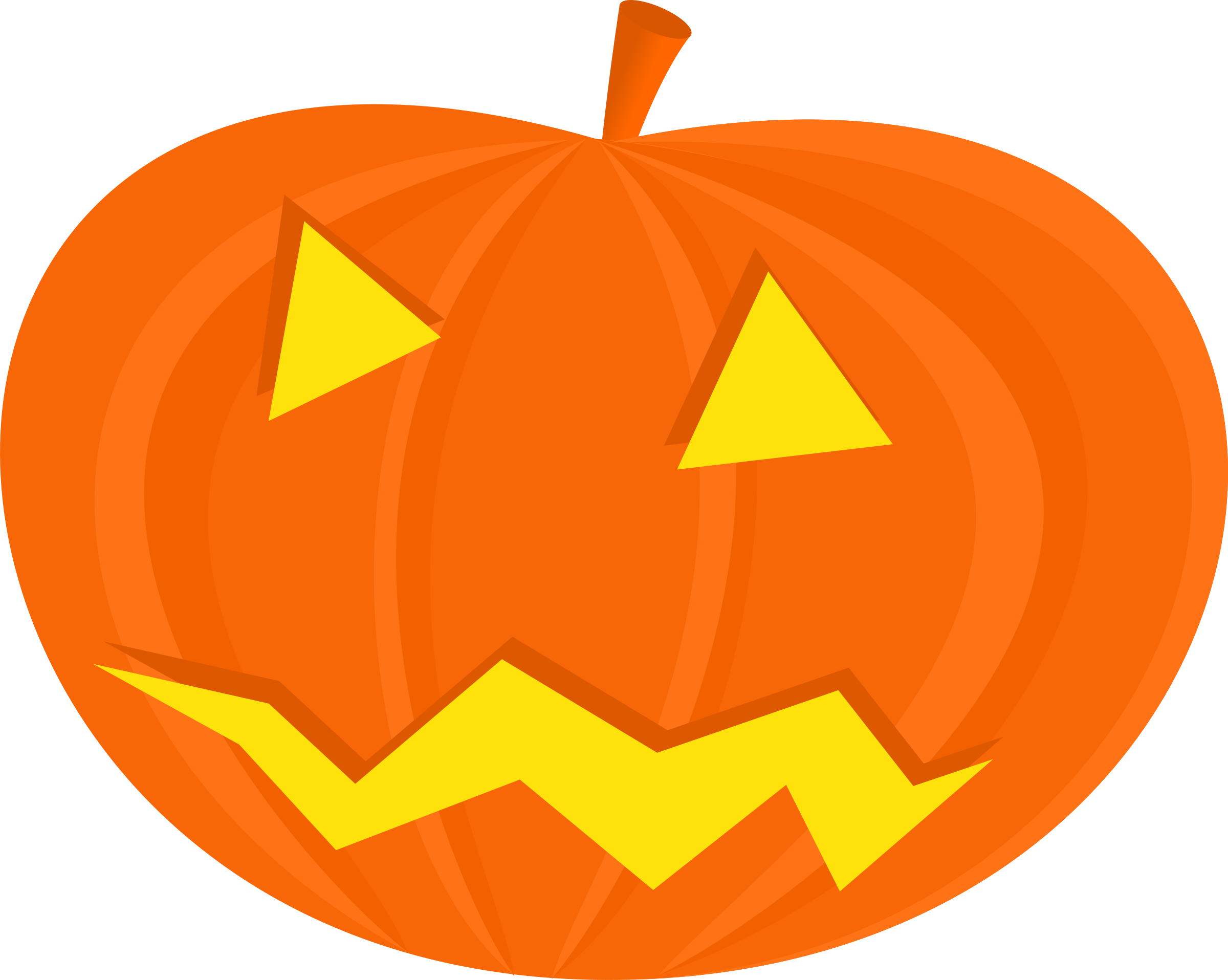 Scary pumpkin face clipart image transparent download Clipart - halloween pumpkins image transparent download
