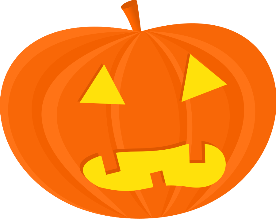 Halloween free at getdrawings. Easy spooky pumpkin clipart black and white