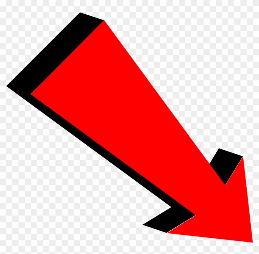 Arrow Red - Big Red Arrow Transparent, HD Png Download - 958x896 ... image freeuse download