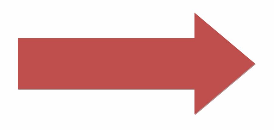 Red Right Arrow - Big Red Arrow Clipart, Transparent Png Download ... clip art transparent