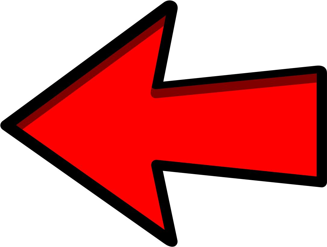 Arrow To The Left 3 Vbec Email Symbol Clip Art Location - Red Arrow ... svg free download