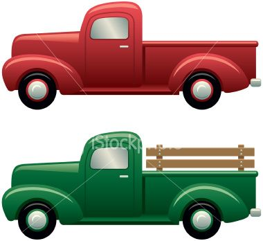 Old red truck png free clipart vector jpg black and white stock pick up truck clip art – Item 3 | Vector Magz | Free Download ... jpg black and white stock