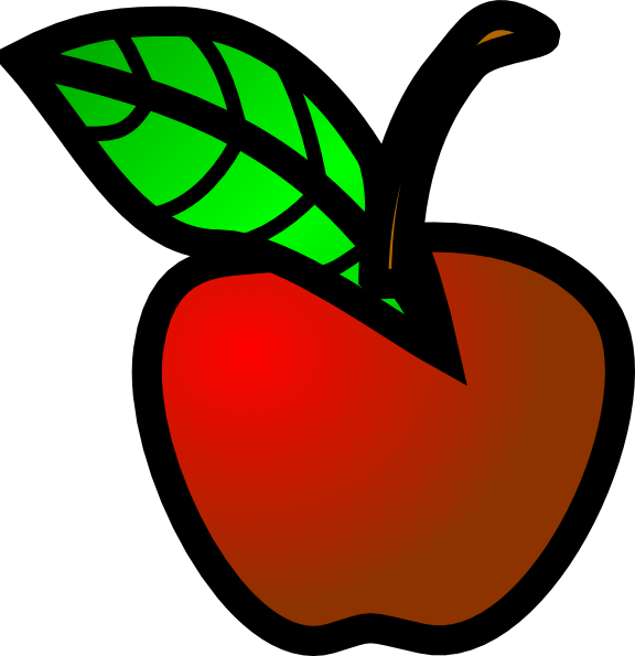 Big apple clipart clip freeuse Small Red Apple Clip Art at Clker.com - vector clip art online ... clip freeuse