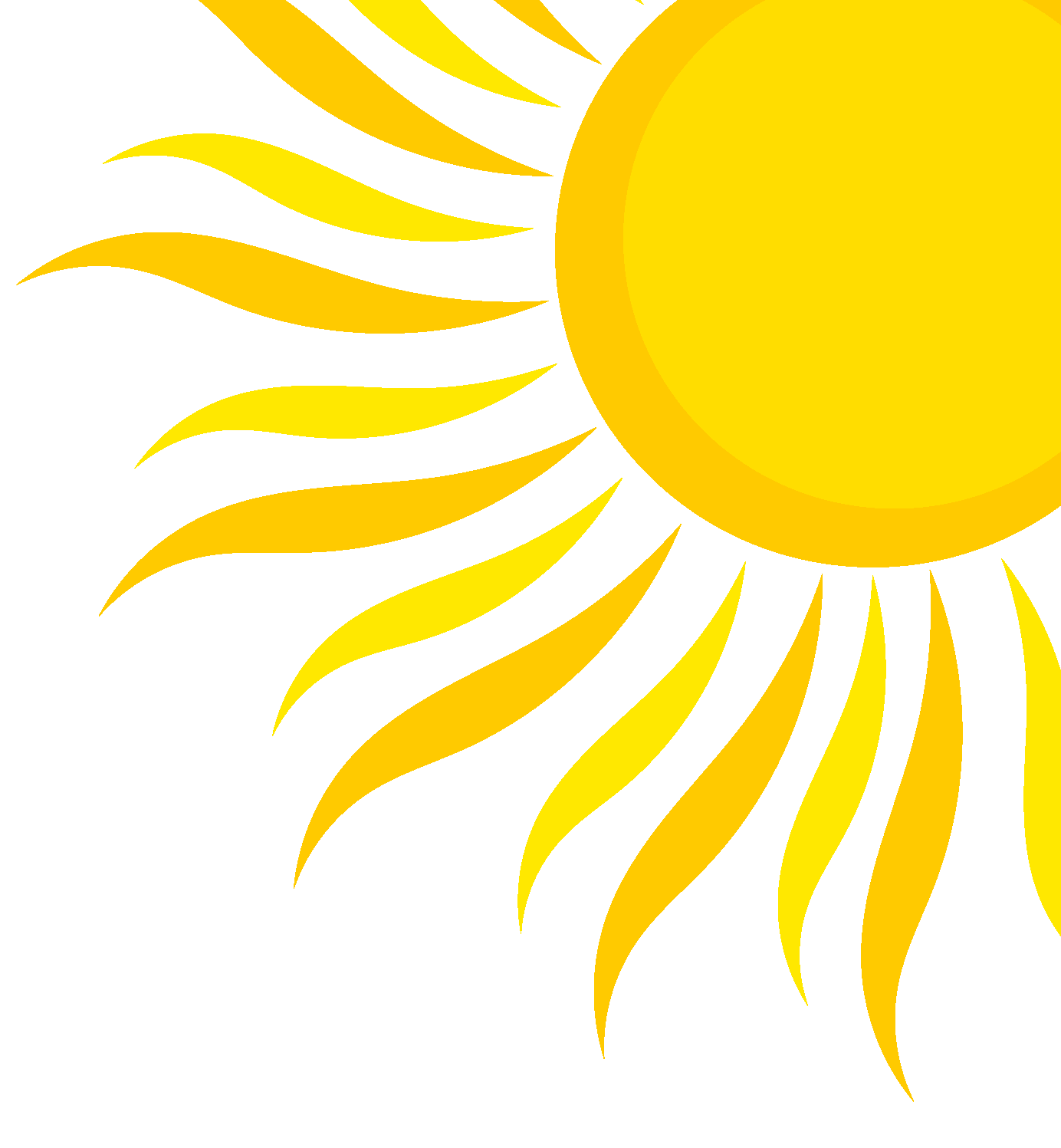 Hot summer sun clipart image transparent download Half Sun Clipart image transparent download